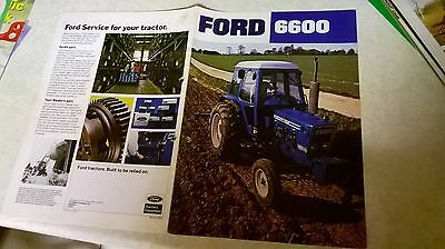 ford 6600 sale brochure