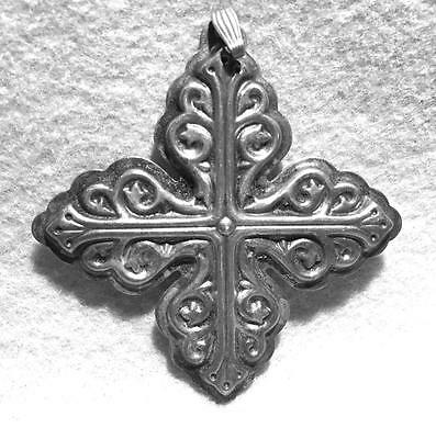 Reed & Barton Sterling Christmas Cross ~   Eighth in Series 1978