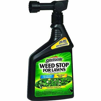 Spectracide Ready-to-Spray Weed Stop Concentrate for Lawns. 320z.