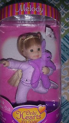 Only Hearts Club Li'l Kids Melody Doll And Her Pet.… New In Box