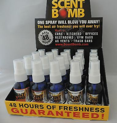 BUY 2 GET 1 FREE Scent Bombs Car Home Air Freshener Concentrated Odor Eliminator