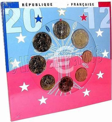 Euro: Serie Divisionale Francia 2012 - Fdc - France