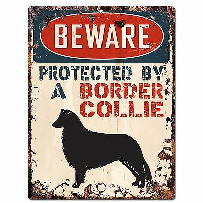Property protected by Nova Scotia Duck-Tolling Retriever dog breed metal sign #B
