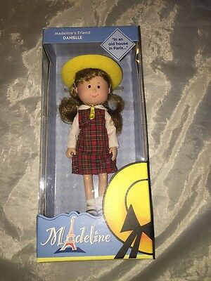 """8"""" Poseable Doll Danielle / Madeline's Friend /new In Box / Learning Curve"""