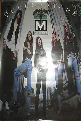 QUEENSRYCHE Empire, EMI promotional poster, 1990, 24x36, VG, hair metal