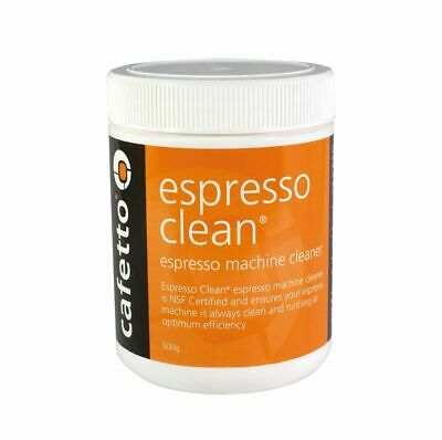 NEW CAFETTO ESPRESSO CLEAN 500g Machine Cleaner for Professional Use Powder