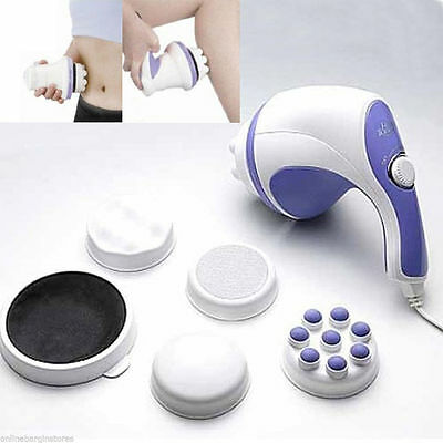 Relax Spin & Tone Full Body Back Foot N Hands Massager For Slimming And Portable