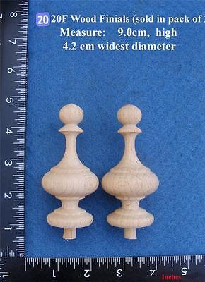 Pair of Clock / furniture Finials Style 20F