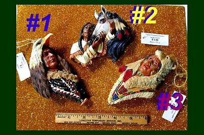 Christmas Western Horse Bear Eagle Head Dress Home Decor Country Ornament Indian
