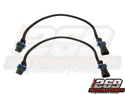 "LS3 Oxygen Sensor 24"" Extension Cable Set of Two O2 2010-14 Camaro Front 27"""