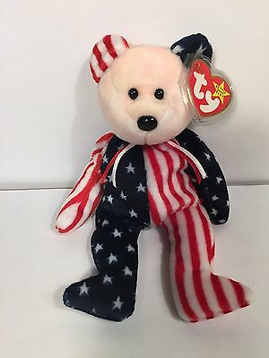 Limited Edition SPANGLE Ty Beanie Baby 1999 VERY RARE, PINK FACE, MINT