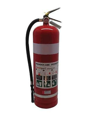 Fire Extinguisher 9Kg - Abe Dry Chemical - Exelgard - Brisbane Collection Only