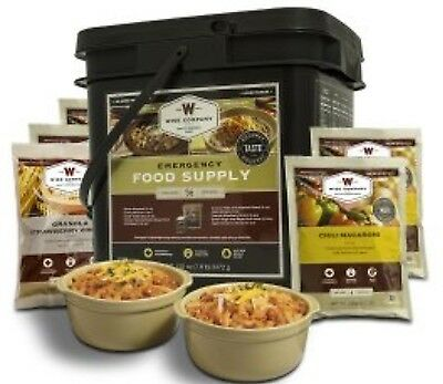 WISE 56 Serve MAINS & BREAKFAST Freeze Dried Food Prepper MAINS & BREAKFAST TUB