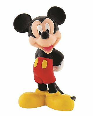 Mickey Mouse Figurine - Disney Bullyland Clubhouse Toy Figure Cake Toppers