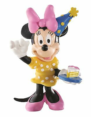 Minnie Mouse Celebration - Disney Bullyland Clubhouse Toy Figure Cake Topper