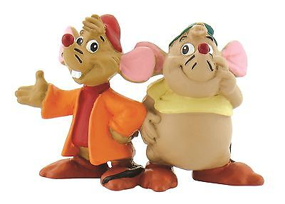 Princess Cinderella Gus & Jaq Figurines -Disney Bullyland Toy Figure Cake Topper