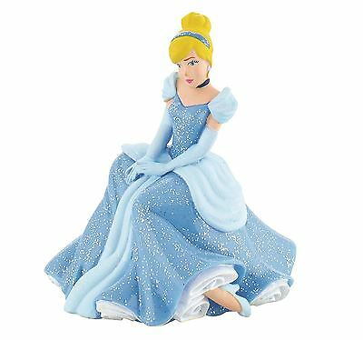 Princess Cinderella Sitting Figurine - Disney Bullyland Toy Figure Cake Topper