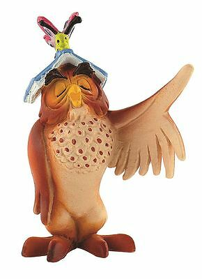 Winnie The Pooh Owl with Book Figurine –Disney Bullyland Toy Figure Cake Topper