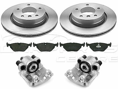 For Bmw 3 Series E46 Rear Brake Disc Pads Rear Left Right Brake Calipers New