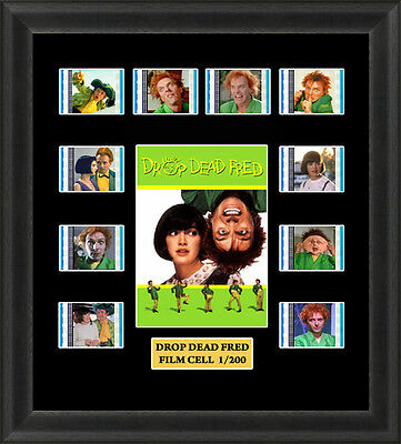 Drop Dead Fred 1991 Framed 35mm Film Cell Memorabilia Filmcells Movie Cell Prese