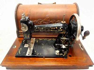 antigua maquina de coser NEW WHITE PEERLESS de 1893 FUNCIONA rare sewing machine