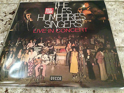 LES HUMPHRIES SINGERS: Live in Concert (Decca DD 3401/1-2 - DLP / NM / Sample)