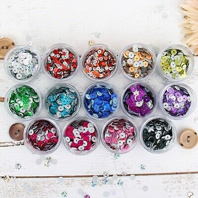 Loose Hot Fix Sequins - Holographic - 720/pack - 6Mm 9 Colors - Threadart