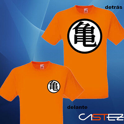 camiseta dragon ball bola dragon goku ENVIO tortuga roshi 24/48H VARIOS COLORES