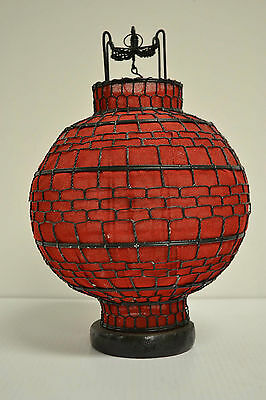 Asian Chinese Red Round Fabric Lantern Feng Shui Home Decor Party Gift AUG12-02
