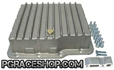 Pgraceshop Aluminum Deep Transmission Pan  Powerglide  Chevy Gm Cooling