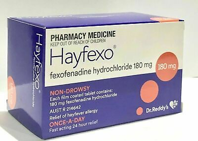 Best Price! Same As Telfast Fexofenadine 180Mg Choose Quantity Discount