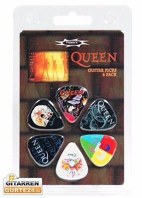 Queen Plektren Set Plektrum Picks Pleks Plektra Plektron Gitarre