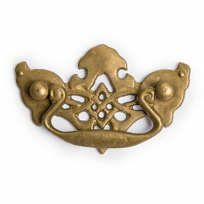 CBH FALCON MASK Chinese Brass Hardware Handle Pulls - Set of 2