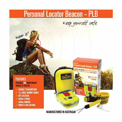 Saftey Alert  Personal Locator Beacon (PLB) with GPS SA2G + Armband Pouch