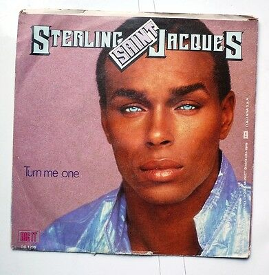 "06068 45 giri - 7"" - Sterling Saint Jacques - Turn me on - Tutto ' blu"