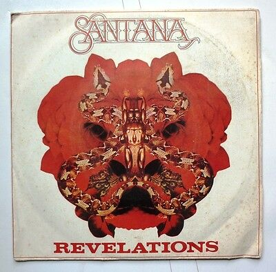 "06107 45 giri - 7"" - Carlos Santana - Revelations - Reach up"