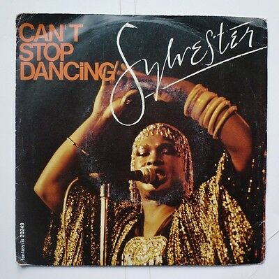 "06047 45 giri - 7"" - Sylvester - In my fantasy - Can't stop dancing"