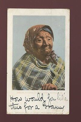 USA ethnic INDIAN Angeline Daughter of Chief Seattle Used 1904 u/b PPC fault