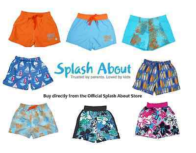 Splash About Boys Swimming Trunks and Board Shorts