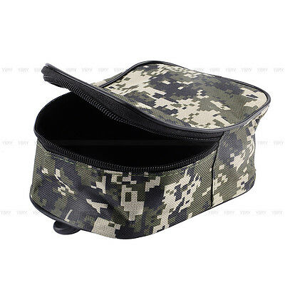 Hot Portable Fishing Reel Mini Bag Pocket Fishing Tackle Pouch Waist Bag Outdoor