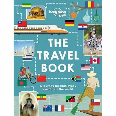The Lonely Planet Kids Travel Book Publications Hardback 9781743607718