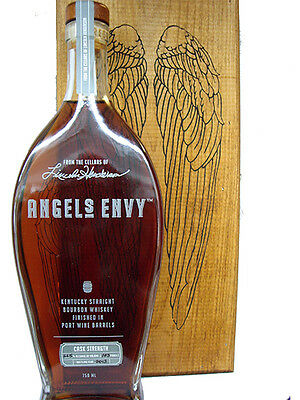 Angel's Envy 2013 Cask Strength Kentucky Bourbon Whiskey 750ml Limited Edition