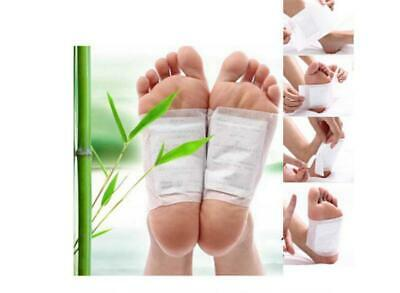 10x Healthy Detox Foot Patch Pad Natural Plant Herbal Toxin Removal Weight Loss
