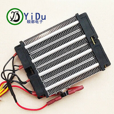 1000W 220V PTC heating element Electric heater ceramic Thermostatic 140*102mm
