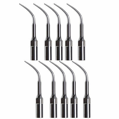 10 X Dental Ultrasonic Scaler Handpiece Scaling Perio Tips G4 fit EMS WOODPECKER