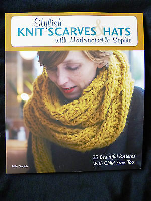 Stylish Knit Scarves & Hats with Mademoiselle Sophie - Adult & Child Sizes