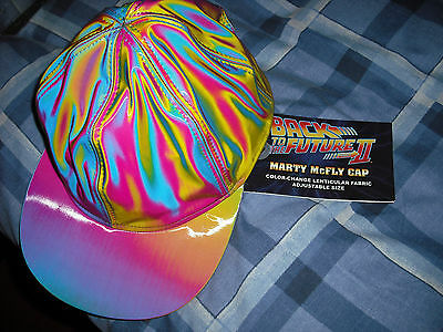 Back to the future 2, colour shifter  marty mcfly  cap