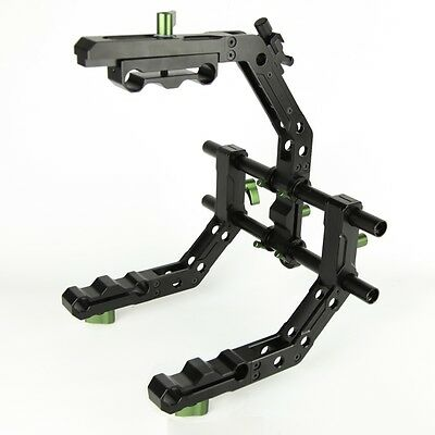 Lanparte CA-02 Heavy Duty Support Cage / C Shaped Support Arm for 15mm Large Rig