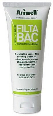 Aniwell Filta-Bac Cream With Sunblock, Tube 120g. Fast Dispatch.