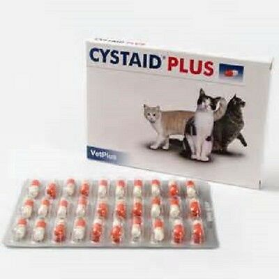 Cystaid Plus for Cats x 30 Capsules, fast dispatch